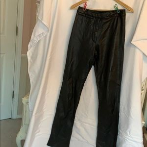 Wilson's size 4 leather pants
